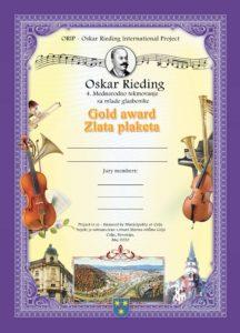 Oskar Rieding diploma 2020