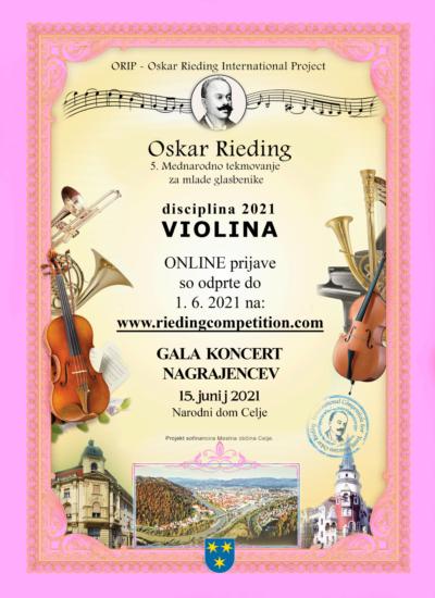 Oskar Rieding Plakat 2021 SLO